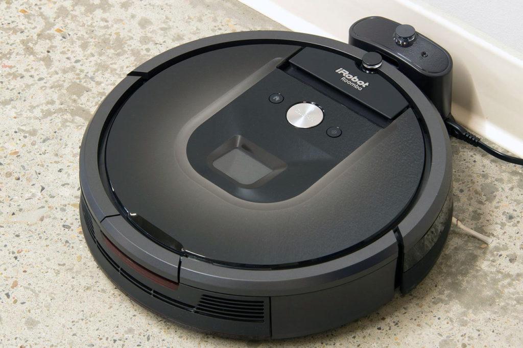 vaccum robot Irobot Roomba 980