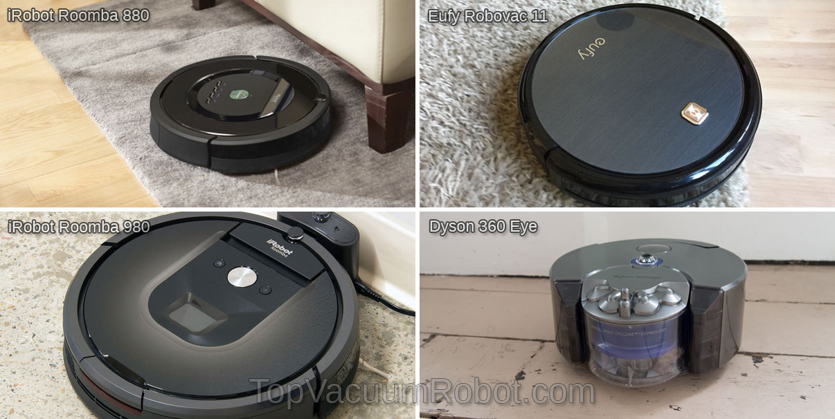 top vacuum robot brands and models