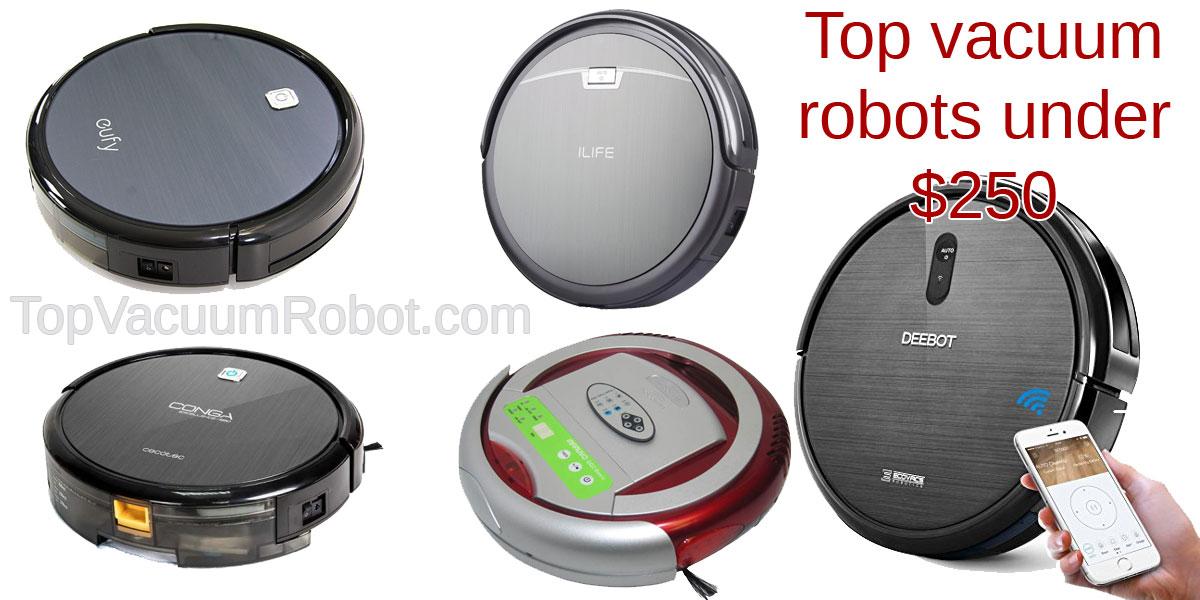 vacuum robots under 250